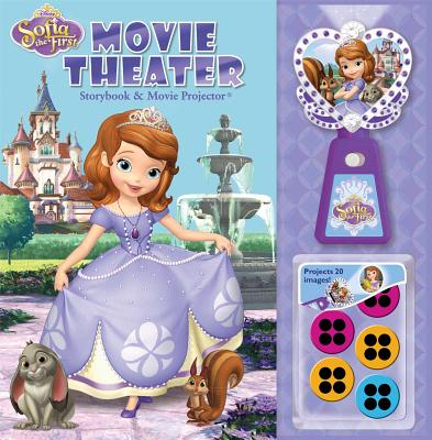 Disney Sofia the First Movie Theater Storybook & Movie Projector By Disney Sofia the First (CRT)